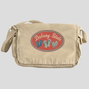 Doheny State Sandal Badge Messenger Bag