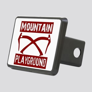 Mountain Playground Rectangular Hitch Cover