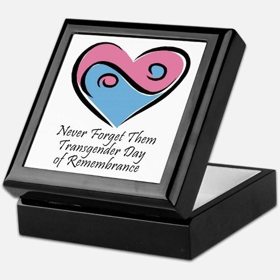 Transgender Day of Remembrance Keepsake Box