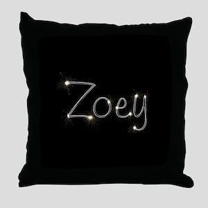 Zoey Spark Throw Pillow