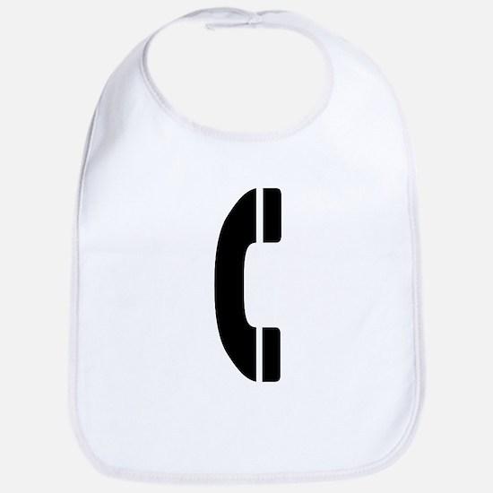 Phone Symbol Bib