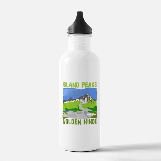 Vancouver island peaks Water Bottle
