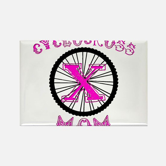 Cyclocross Mom Unique Rectangle Magnet
