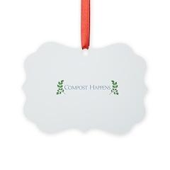 Compost Happens Ornament