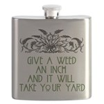 Give a Weed an Inch Flask