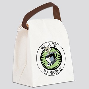 No Coffee Canvas Lunch Bag