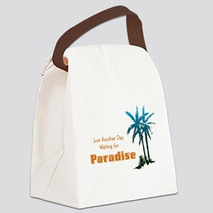 Waiting for Paradise Canvas Lunch Bag