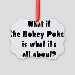 Hokey Pokey Picture Ornament