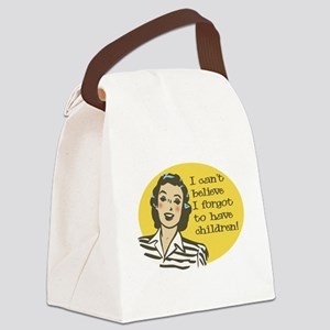 Forgot to have Children Canvas Lunch Bag