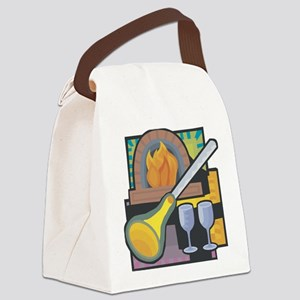Glass Blowing Canvas Lunch Bag