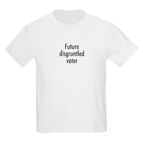 Future disgruntled voter Kids Light T-Shirt