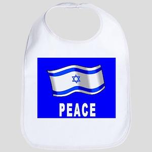 Jewish Israel Flag Peace Bib