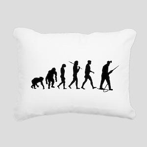 Miners Mining Rectangular Canvas Pillow