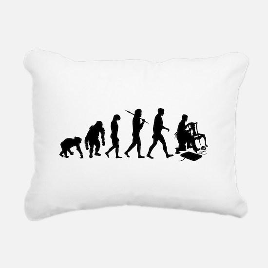 Upholsterer Rectangular Canvas Pillow