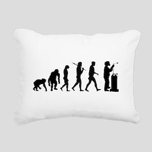 Welding Evolution Rectangular Canvas Pillow