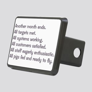 All Targets Met Rectangular Hitch Cover