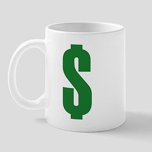 USD Currency Symbol Mug