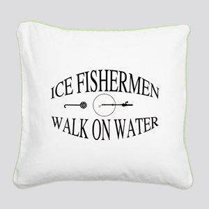 Walk on water Square Canvas Pillow