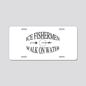 Walk on water Aluminum License Plate