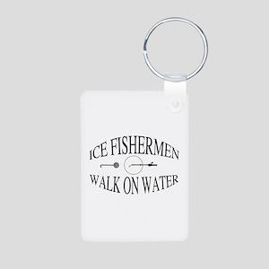 Walk on water Aluminum Photo Keychain