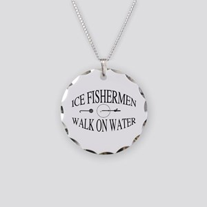 Walk on water Necklace Circle Charm