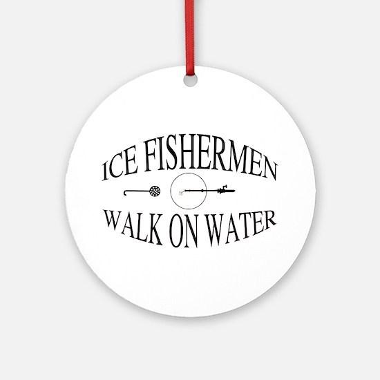 Walk on water Ornament (Round)