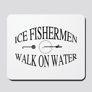 Walk on water Mousepad
