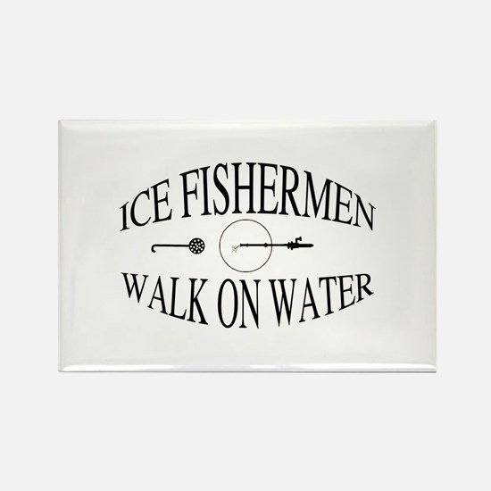 Walk on water Rectangle Magnet