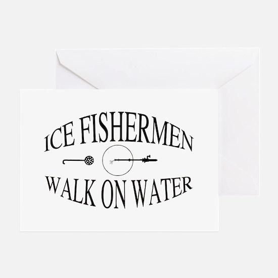 Walk on water Greeting Card