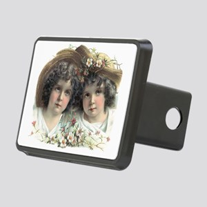 Victorian Twins Rectangular Hitch Cover