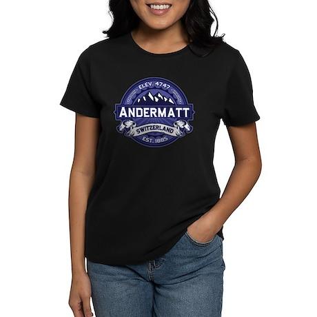 Andermatt Midnight Women's Dark T-Shirt