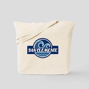 San Clemente Surfer Pride Tote Bag