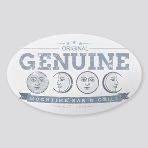 MoonTime Bar and Grill Sticker (Oval)