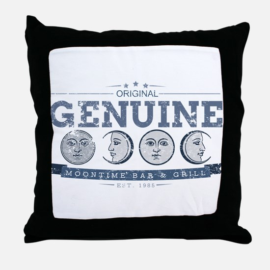 MoonTime Bar and Grill Throw Pillow
