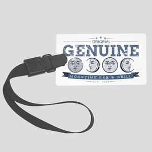 MoonTime Bar and Grill Large Luggage Tag