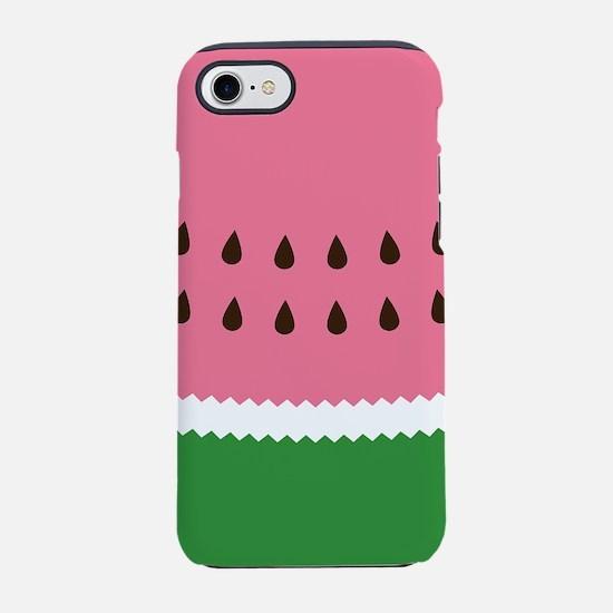 Abastract Watermelon iPhone 7 Tough Case