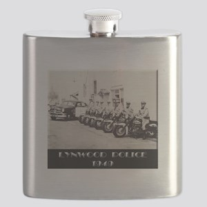 Lynwood Police 1949 Flask
