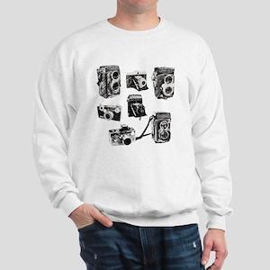 Vintage Cameras Sweatshirt