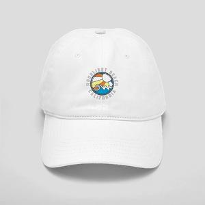Moonlight Beach Wave Badge Cap