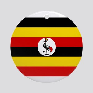 Uganda - National Flag - Current Round Ornament
