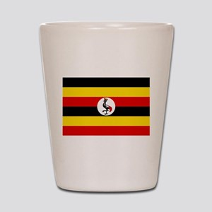 Uganda - National Flag - Current Shot Glass