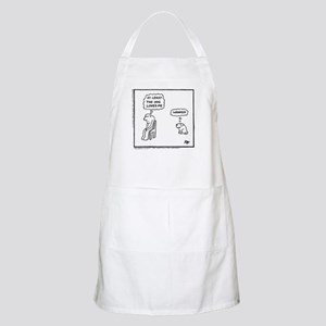 'At Least The Dog Loves Me' Apron