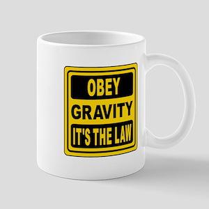 Obey Gravity. It's The Law! Mug