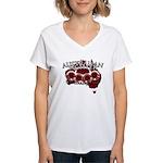 Aussie Fighter Women's V-Neck T-Shirt