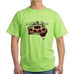 Aussie Fighter Green T-Shirt