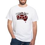 Aussie Fighter White T-Shirt