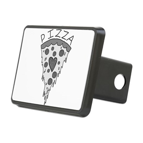 Pizza Lover 2 Rectangular Hitch Cover