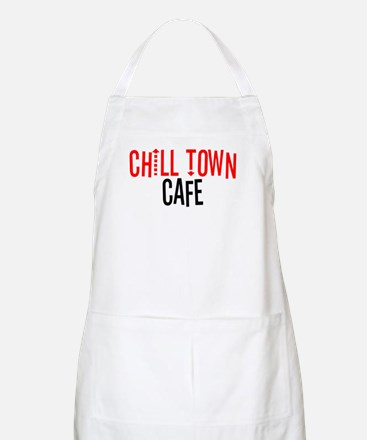 Chill Town Cafe BBQ Apron