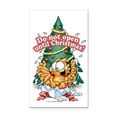 Do Not Open Until Christmas Rectangle Car Magnet