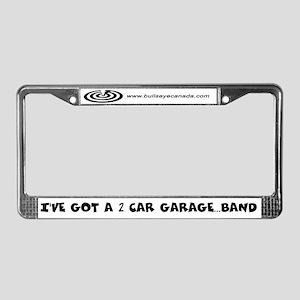Bullseye Canada License Plate Frame